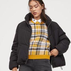 H&M Boxy Puffer Jacket Women's Size 12